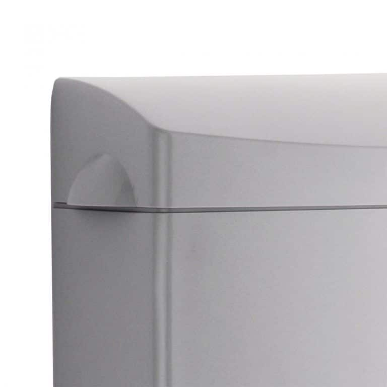 Bobrick B-5270 MatrixSeries surface mounted sanitary napkin disposal detail view.