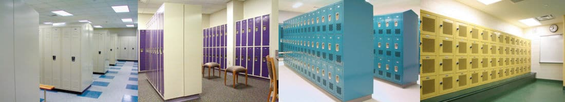 Standard-metal-lockers