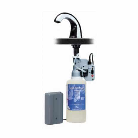 Complete Bobrick B-826 (B-826.18) automatic lavatory mounted soap dispenser.
