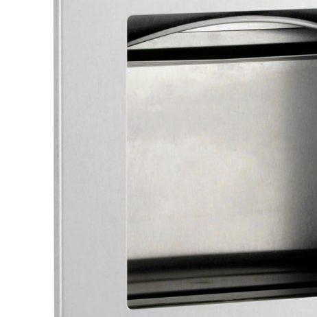 Bobrick TrimLine Recessed Paper Towel Dispenser and Waste Receptacle B-36903