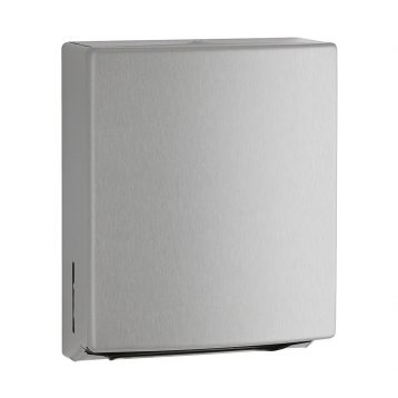 Bobrick Contura Surface Mount Paper Towel Dispenser B-4262 against white.