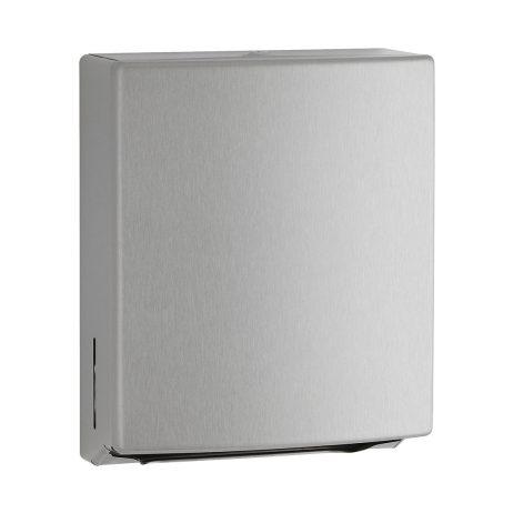 Bobrick Contura Surface Mount Paper Towel Dispenser B-4262 against white.