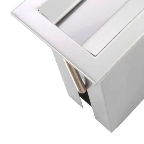 Side view of Bobrick TrimLine Countertop Paper Towel Dispenser B-526