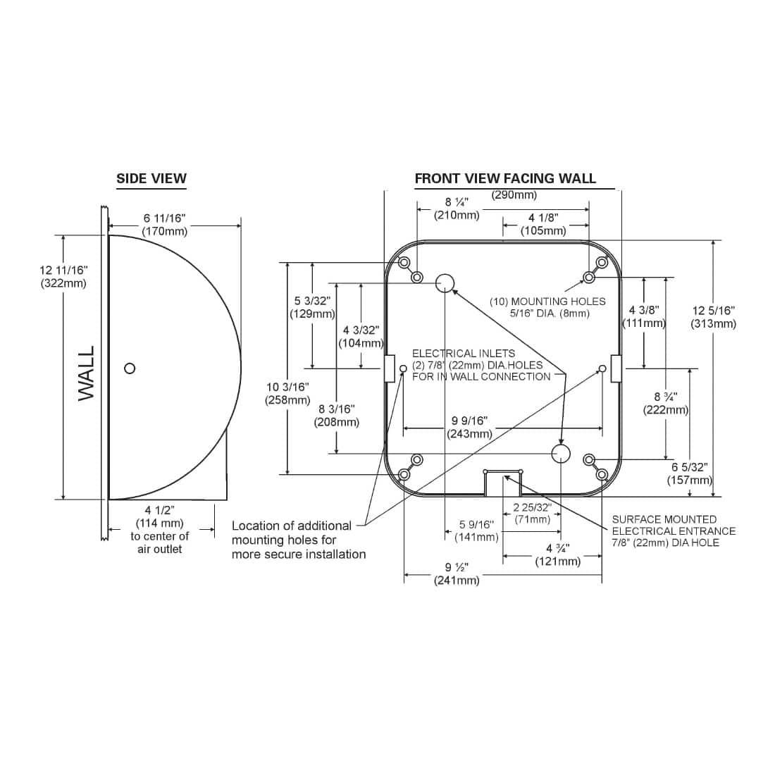 excel xlerator hand dryer Coxreels Wiring Diagram