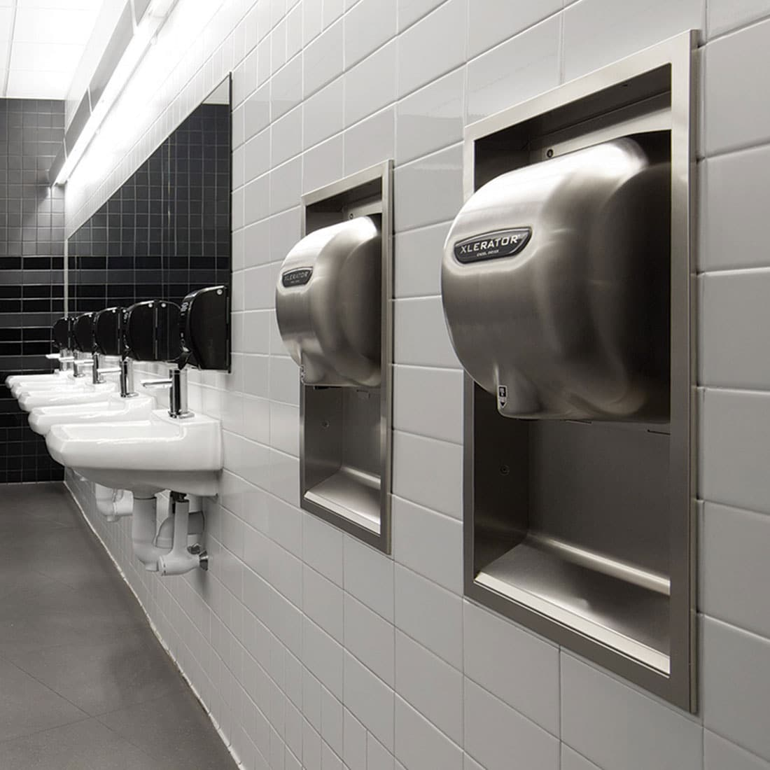 Excel Xlerator Hand Dryer Made In Usa Partition Plus