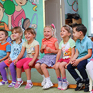 Photograph kindergarten age children.