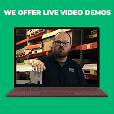 We Offer Live Video Demos