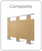 Composite Toilet Partitions