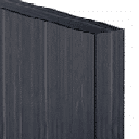 A blue gray laminate partition illustration.