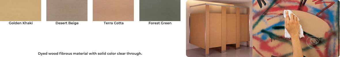 Composite color chart