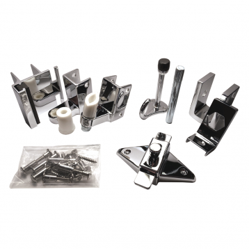 Photograph of Bobrick In-Swing Door Hardware Kit - 1002038.