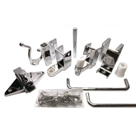 Photograph of Bobrick Out-Swing Door Hardware Kit – 1002039.