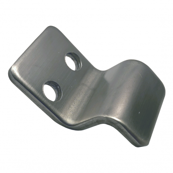 Photograph of Bobrick In-Swing Keeper - 1040-35 showing the smooth, finished surface.