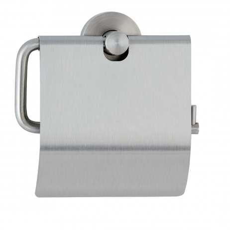 Photograph of the Bobrick Cubicle Collection Toilet Tissue Dispenser with Hood B-546.