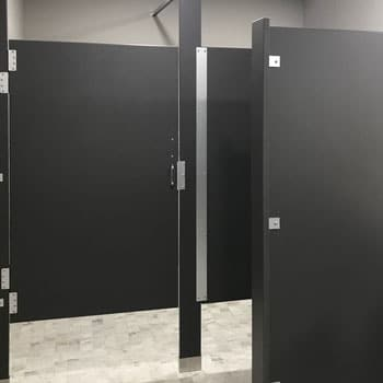 Photograph of matching HDPE partitions.