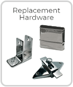 Replacement Toilet Partition Hardware